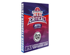 auto Cannabis Samen Red Critical von Sensoryseeds Shop