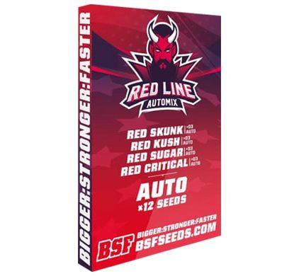 Kit mit auto Cannabissamen Red Line Automix von Sensoryseeds Shop