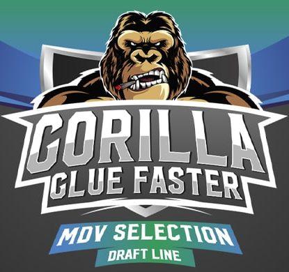 Logo von Gorilla Glue um schnelle Cannabis Samen BSF bestellen