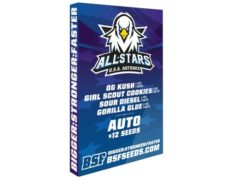Set mit auto Cannabissamen All Stars USA Automix von Sensoryseeds Shop