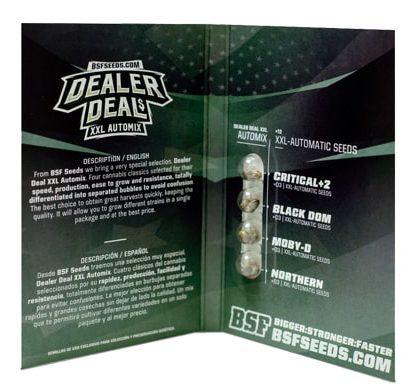 Titelbild von Dealer Deal XXL Automix Produktbeschreibung mit Cannabis Samen BSF Informationen