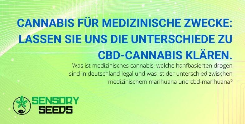 Die Unterschiede zwischen medizinischem Cannabis und CBD-Cannabis